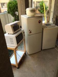 冷蔵庫・洗濯機・電子レンジ・トースター他