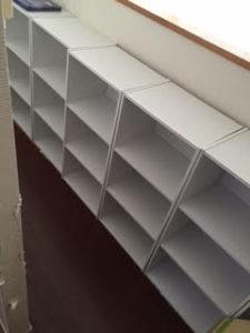 木製カラーボックス