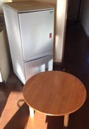 冷蔵庫・ちゃぶ台